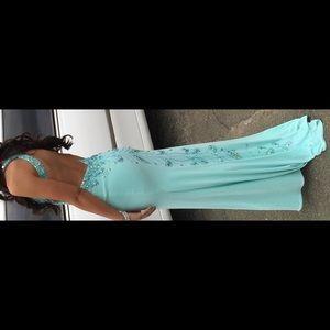 Allure Bridal Aqua Gown